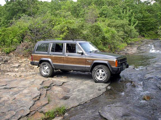 Product picture The BEST 1990 Jeep Wagoneer Factory Service Manual